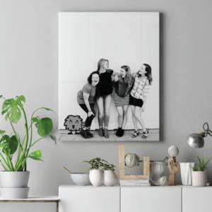 Foto op canvas moederdag