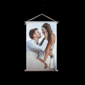 Valentijn textielposter